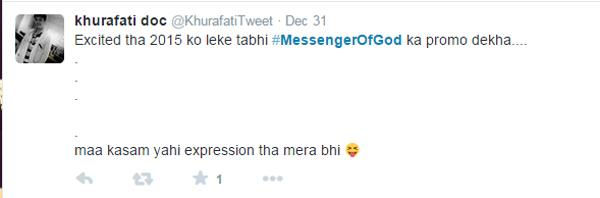 #MSG: #MessengerOfGod
